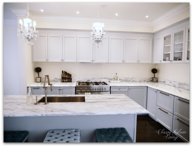 Integrated Hood + Upper Cabinets