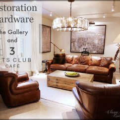 Restoration Hardware Living Room Style Ideas 2016 Chicago The Gallery At Three Arts Club 3 Cafe Classy Glam