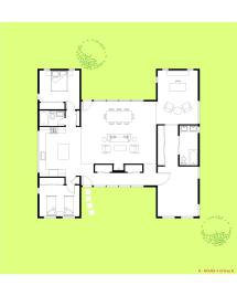 Efficient Open Floor House Plans