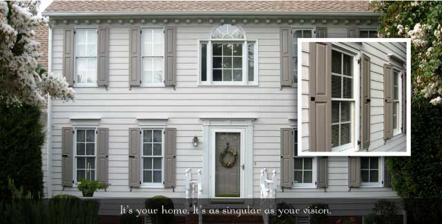 Exterior Shutters And Shutter Hardware By Headhouse Square