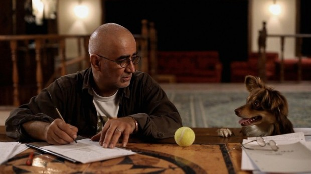 Kambuzia Partovi in Jafar Panahi's Closed Curtain