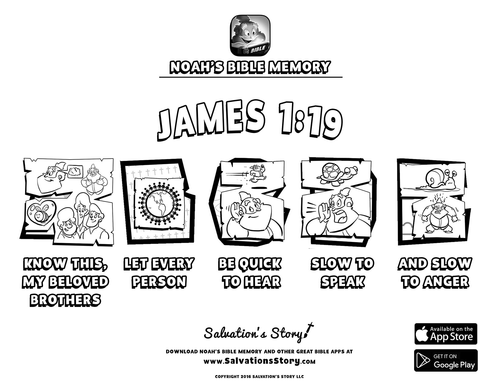 Bible Memory Printable Gallery — Sunday School Games