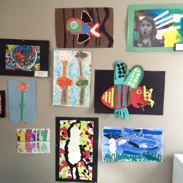 Ways to Display Your Kids Art