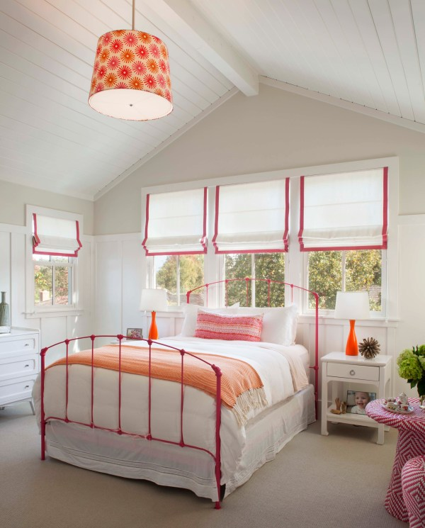 Modern Farmhouse Girls' Bedroom