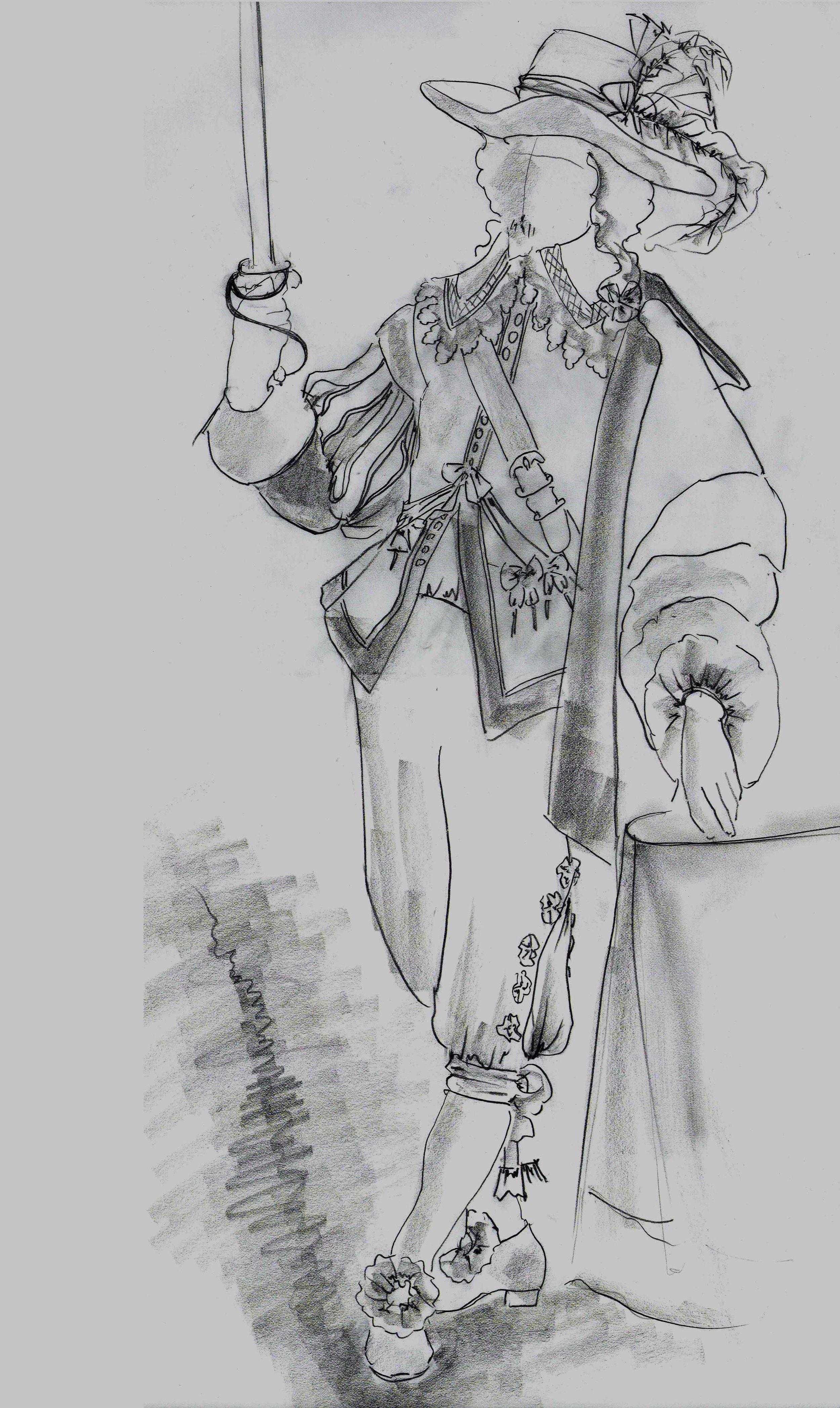 Cyrano de Bergerac on Broadway — Gregory Gale Costume Design