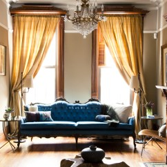 Eclectic Living Room Decor Gaming Pc Setup Bed Stuy I S H K A D E G N Brooklyn Brownstone Interior Design Project
