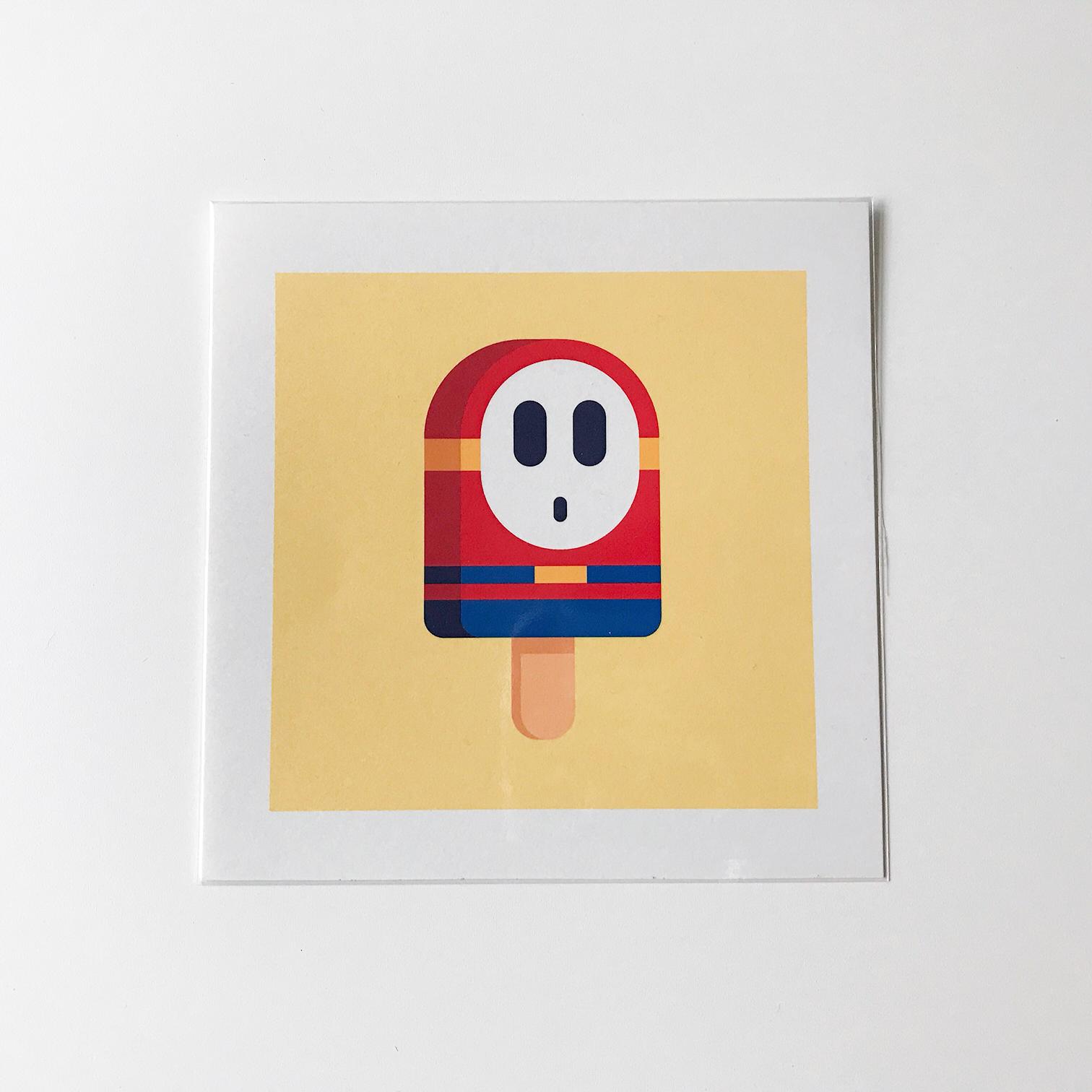 super mario baddies popsicle