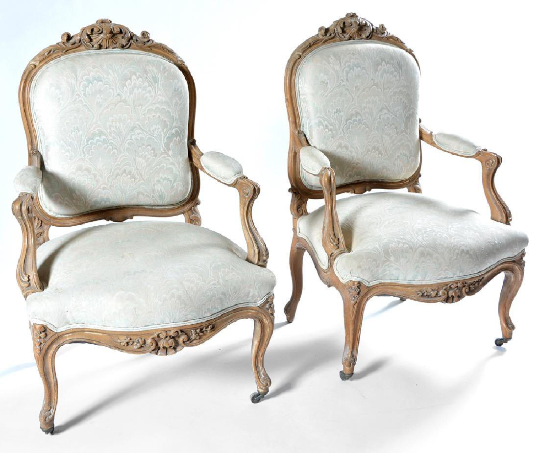 louis xv chair building adirondack chairs out of pallets a very fine pair attributed to jean baptiste ii stefan alexander interiors