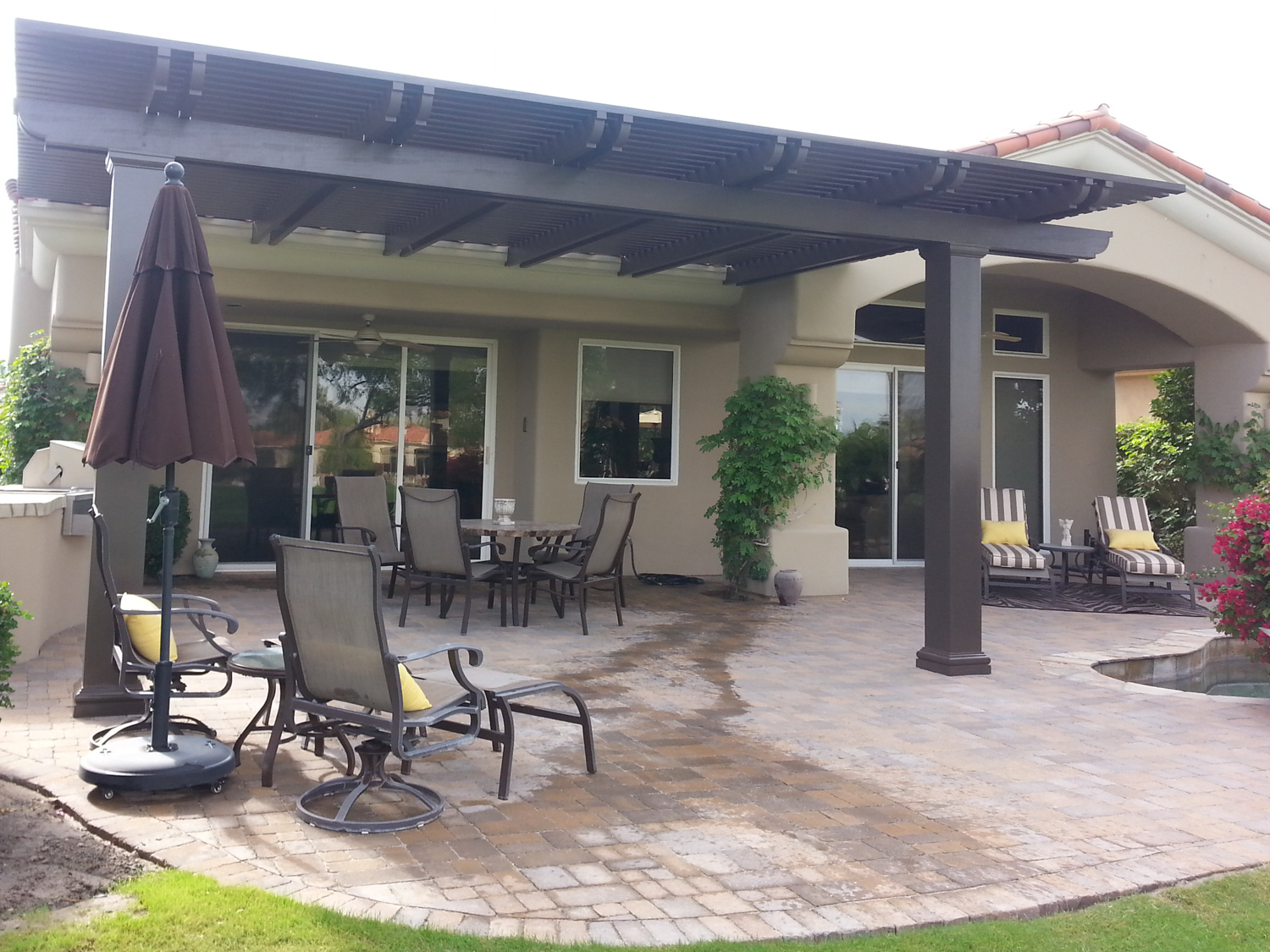 Weatherwood and AluminumWood Patio Cover Products by