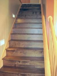 Wood Staircase Installation Gallery  Raven Hardwood Flooring