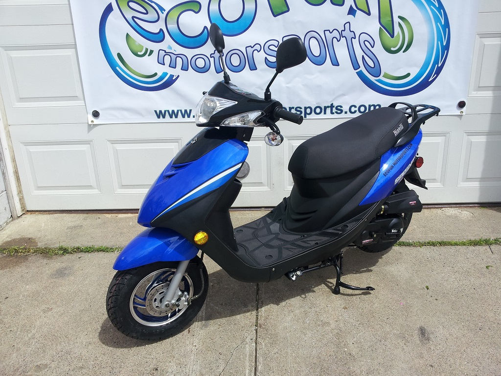 bintelli sprint 49cc moped