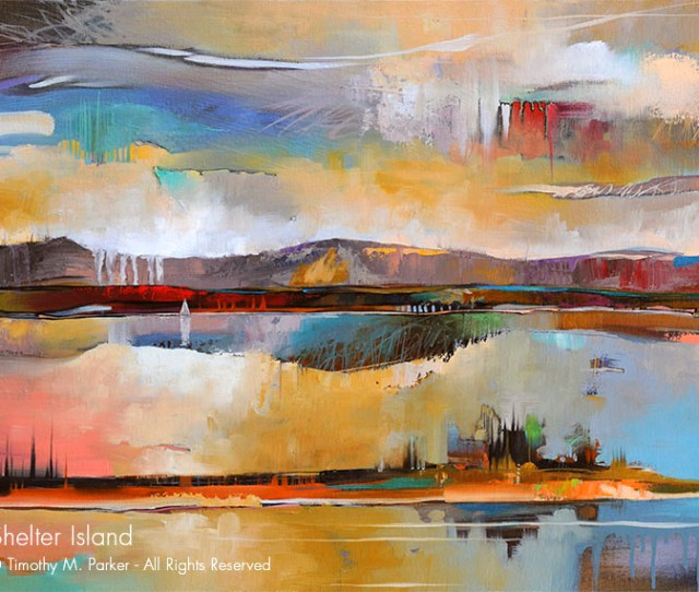 Shelter Island Abstract Landscape Fine Art Print Artd Gallery Naples Fl Contemporary Fine Art Prints Modern Abstract Artwork By Southwest Fl Artist