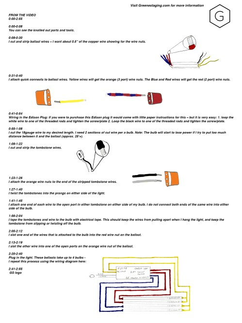 small resolution of fluorescent bulbs greene 4 lamp ballast wiring diagram ballast wiring tools