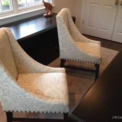 Office Side Chair Chairs That Help You Stand Up Re-upholstered - The Softer