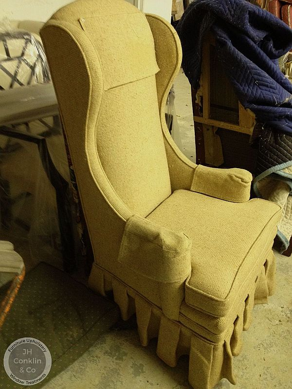 chair upholstery cost easy exercises for seniors dvd to re upholster a wing before moorestown nj