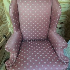 Reupholster Chair Cost Reclining And Ottoman To Re Upholster A Wing Egg Harbor Nj Before Reupholstery