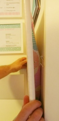 How to cover a cork board-Blog | Home Organisation-The ...