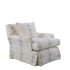 White Club Chairs Swing Chair Ubud Rooms Gardens Brighton Swivel With Custom Blue And Fabric