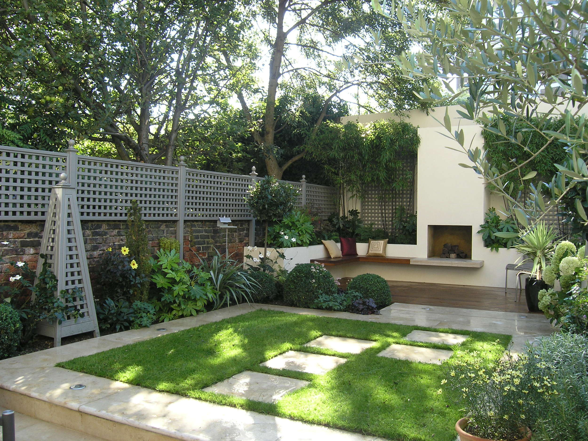 Small Area Garden Design Ideas