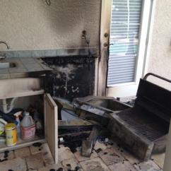Outdoor Kitchen Hood Plastic Cabinets Fire In Florida The Importance Of Vent 1