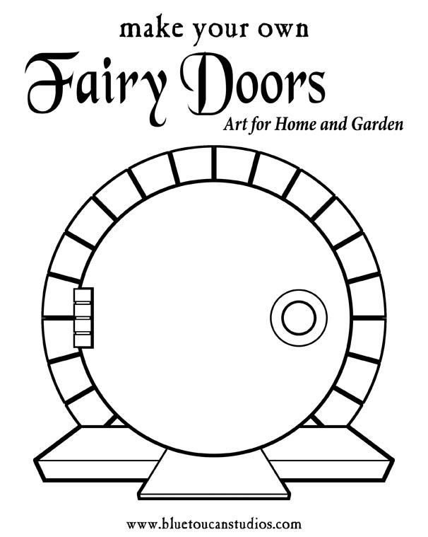 Fairy Door Templates & The Door Arrived Carefully Packaged