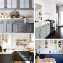 Kitchen Hardware Trends Cushion Covers Trend Watch Painted Cabinets And Brass Ms Weatherbee