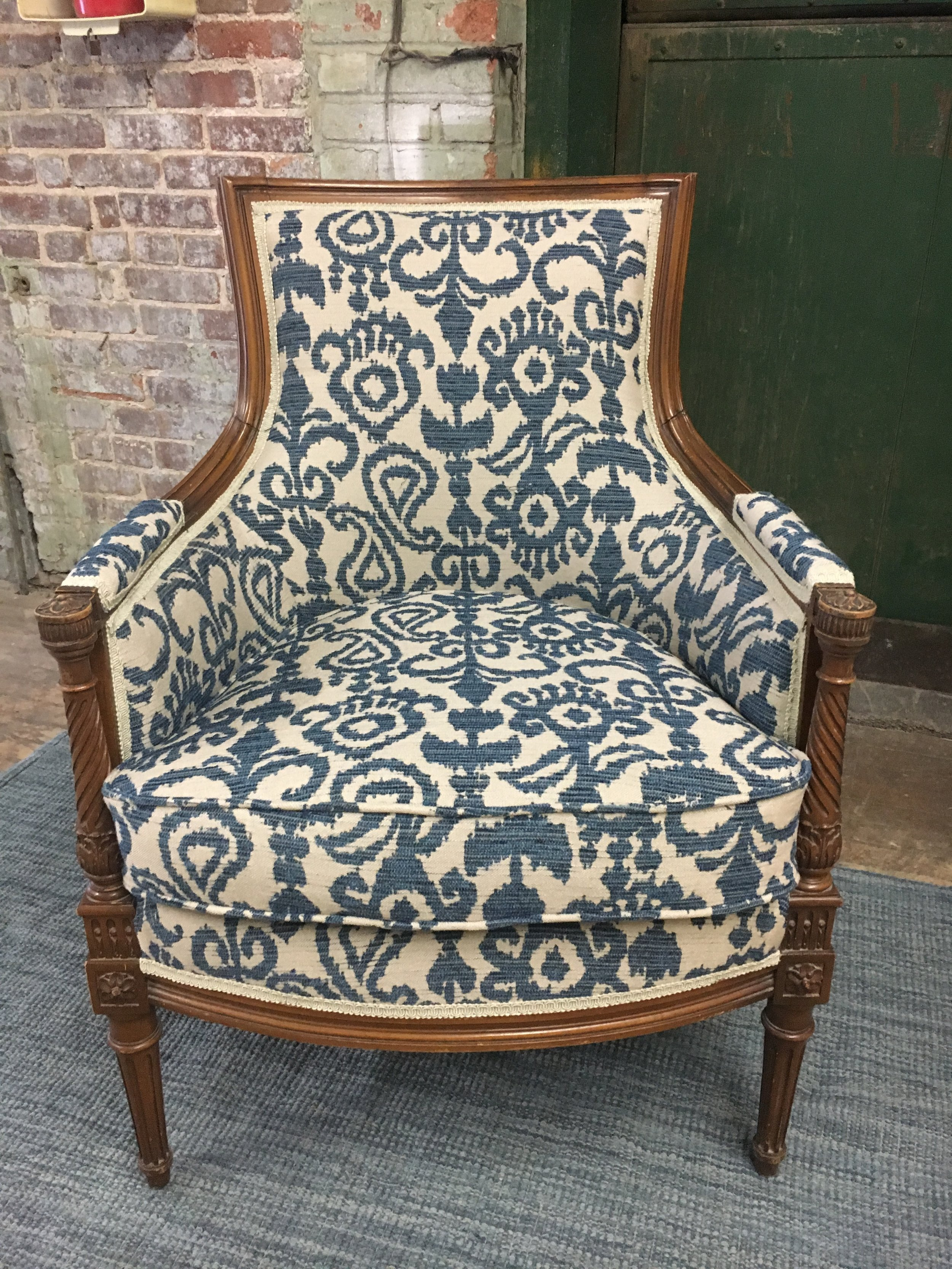 Refurbished Chairs Upholstered Chairs Benches Ottoman And More Refurbished With Love