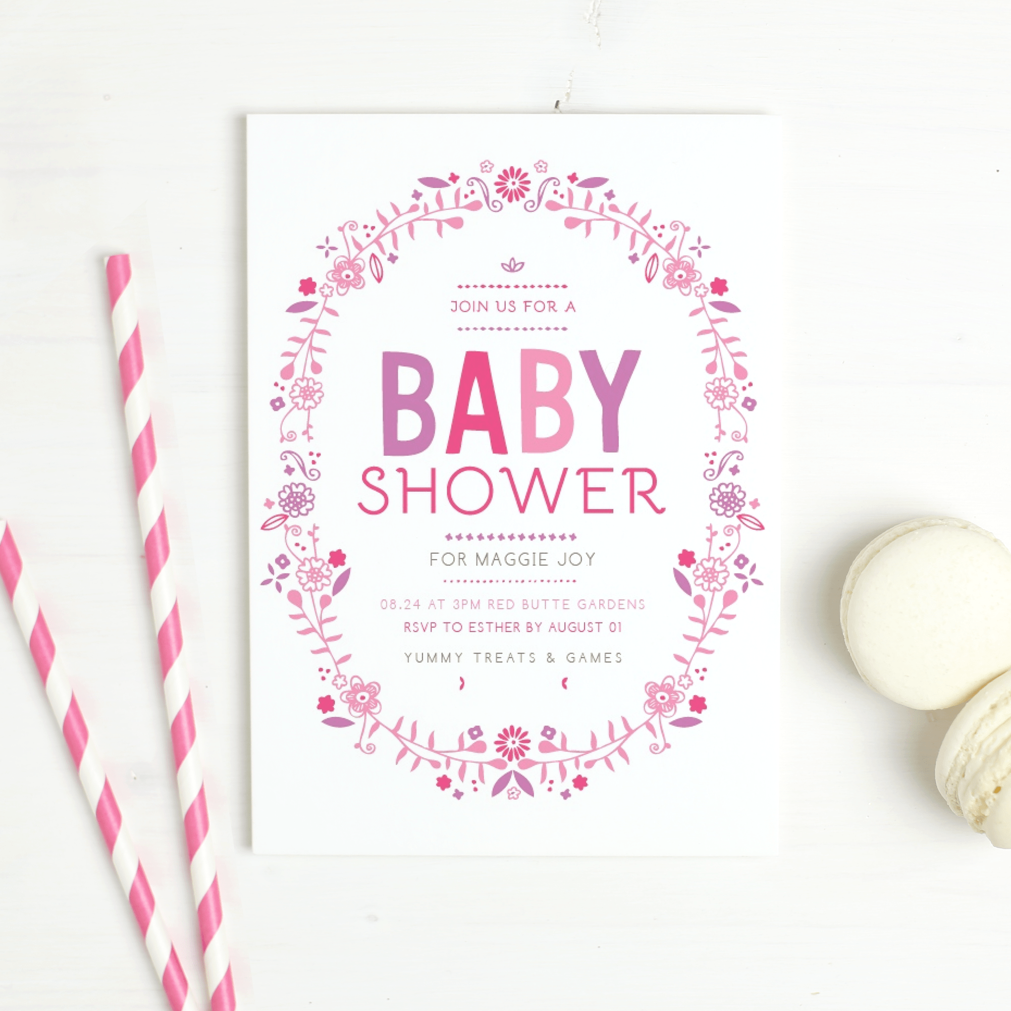 Fun Baby Shower Invitation Ideas from Basic Invite (Plus Free Printables)