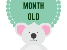 Super Cute and Free Printable Animal Themed Baby Monthly ...