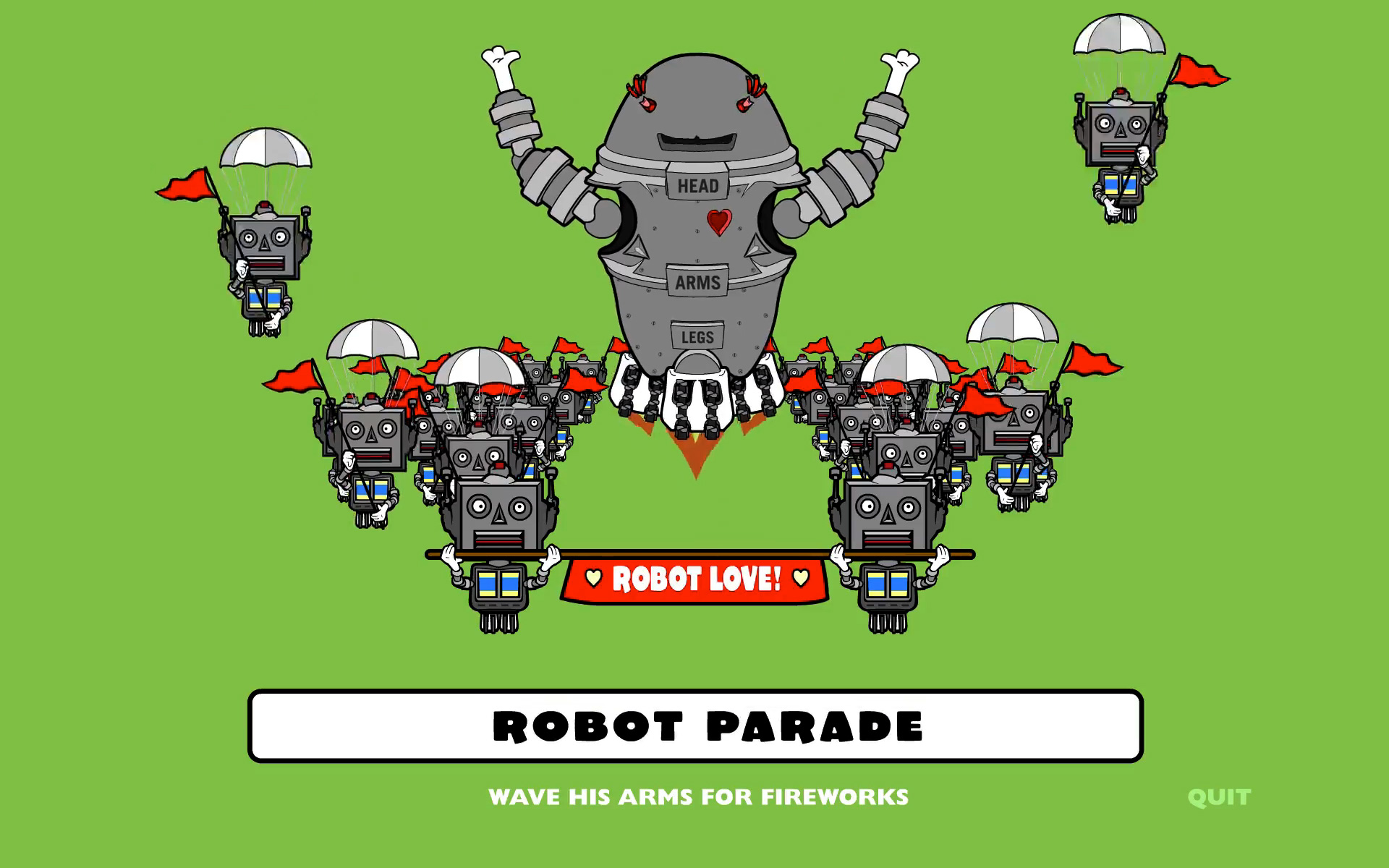 hight resolution of scene from robot parade