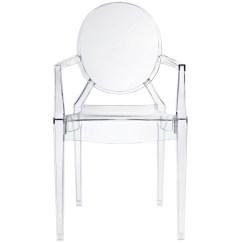 Acrylic Arm Chair Alpine Design Zero Gravity Clear Armchair Rentquest