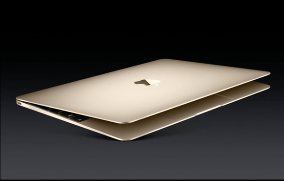 New MacBook in Gold