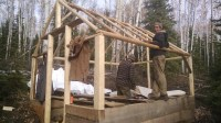 Wood Frame Tent & Roomoon