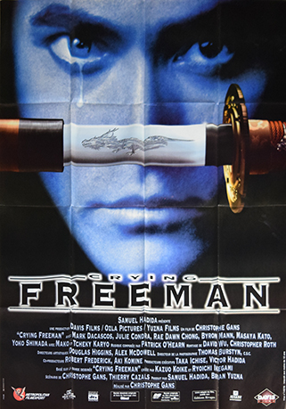 Crying Freeman (film) : crying, freeman, (film), Crying, Freeman, Artful, Posters