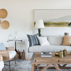 Photo Of Living Room Design French Country Ideas Studio Mcgee Moody Textured Rustic Inspired In