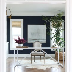 Navy Blue Dining Chair High Kmart The Midway House: Office — Studio Mcgee