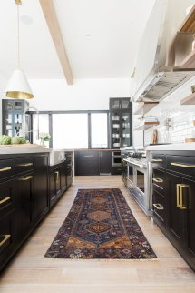 Modern Mountain Home Tour Great Room Kitchen Dining