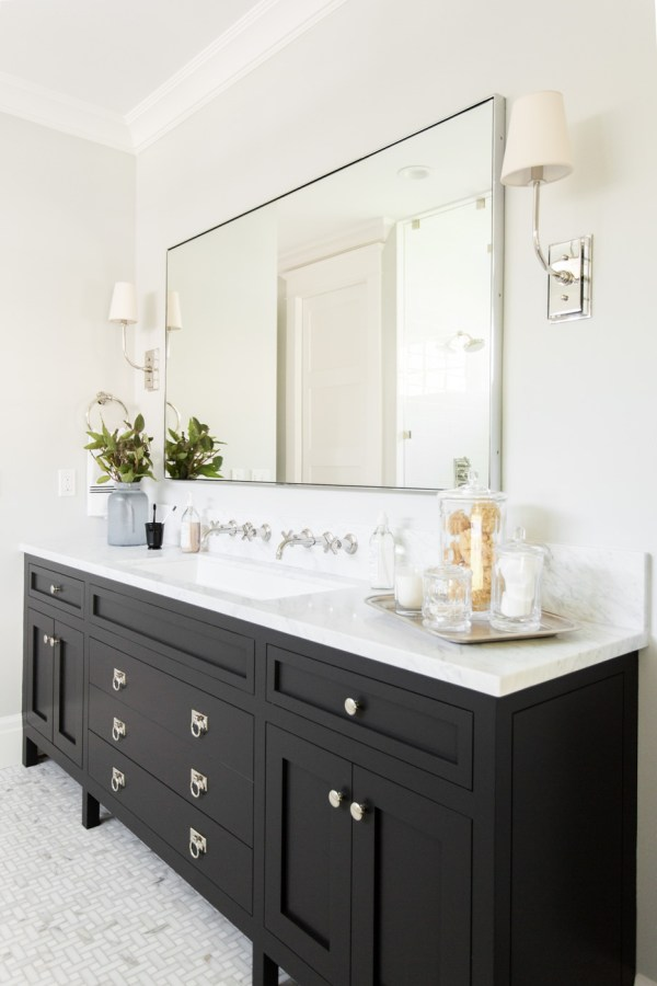 Bathroom Vanity with Black
