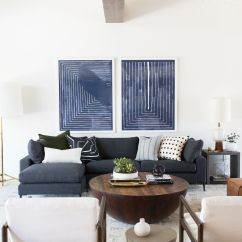 Modern Artwork For Living Room Open Dining Furniture Layout Mid Century Project Reveal