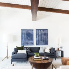 Mid Century Modern Living Room Chandelier Lights For Small Project Reveal We Staged Main Rooms And Kept With The Look But Our Signature Eclectic Style