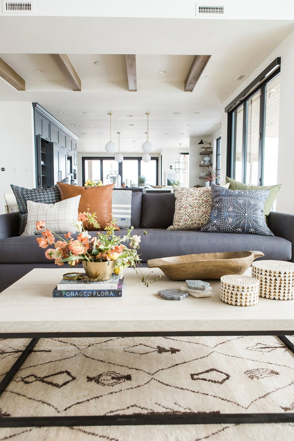 living room decorative pillows chicago bungalow ideas how to style your throw in a traditional setting you ll match on both sides of the sofa but i like mash up all different prints and even some larger