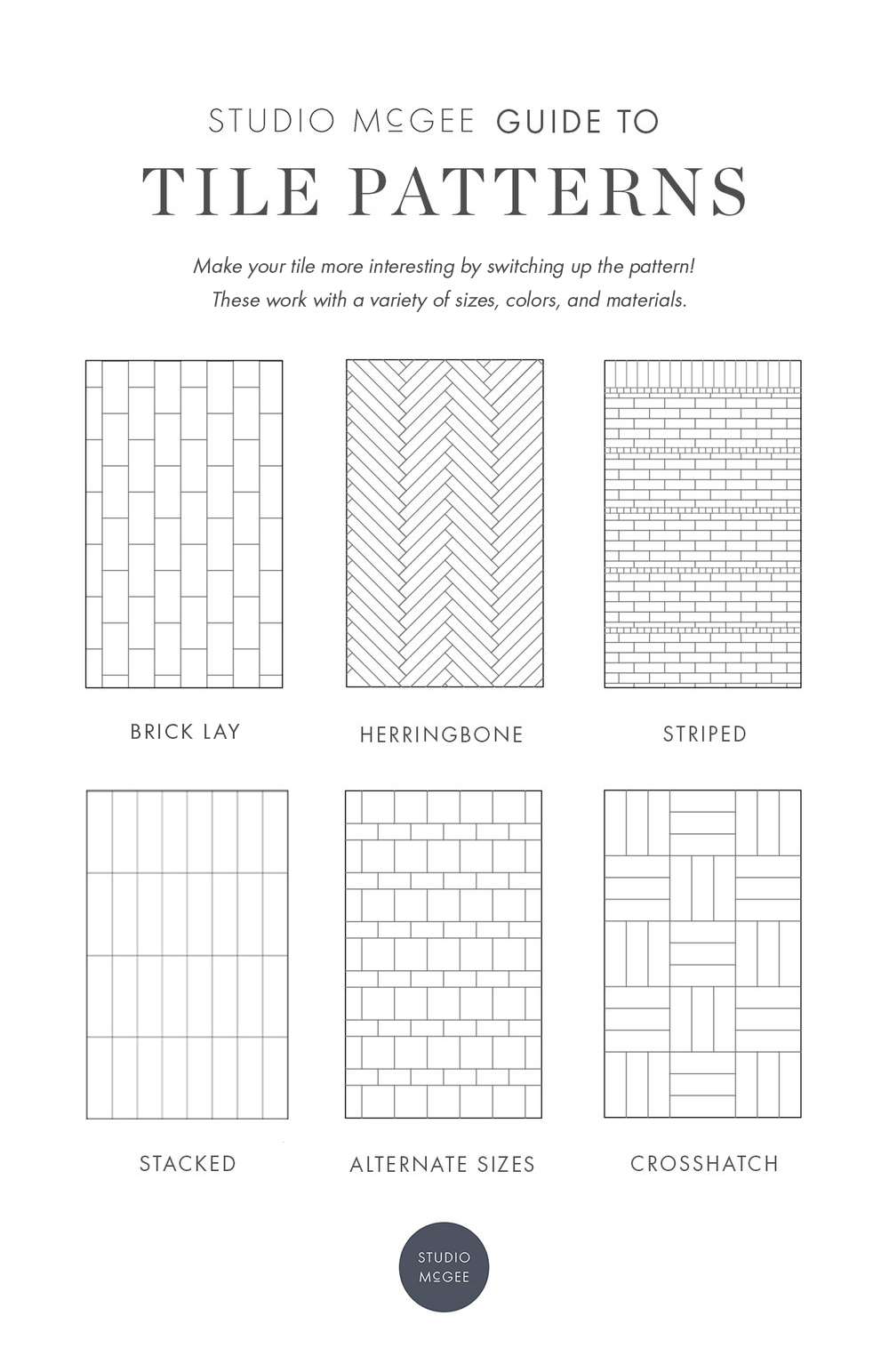 Our Guide to Patterned Tile
