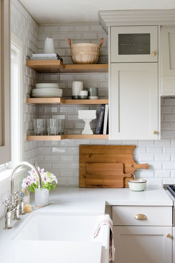 beveled subway tile kitchen prefab outdoor kitchens our favorite alternatives to traditional 1 jpg