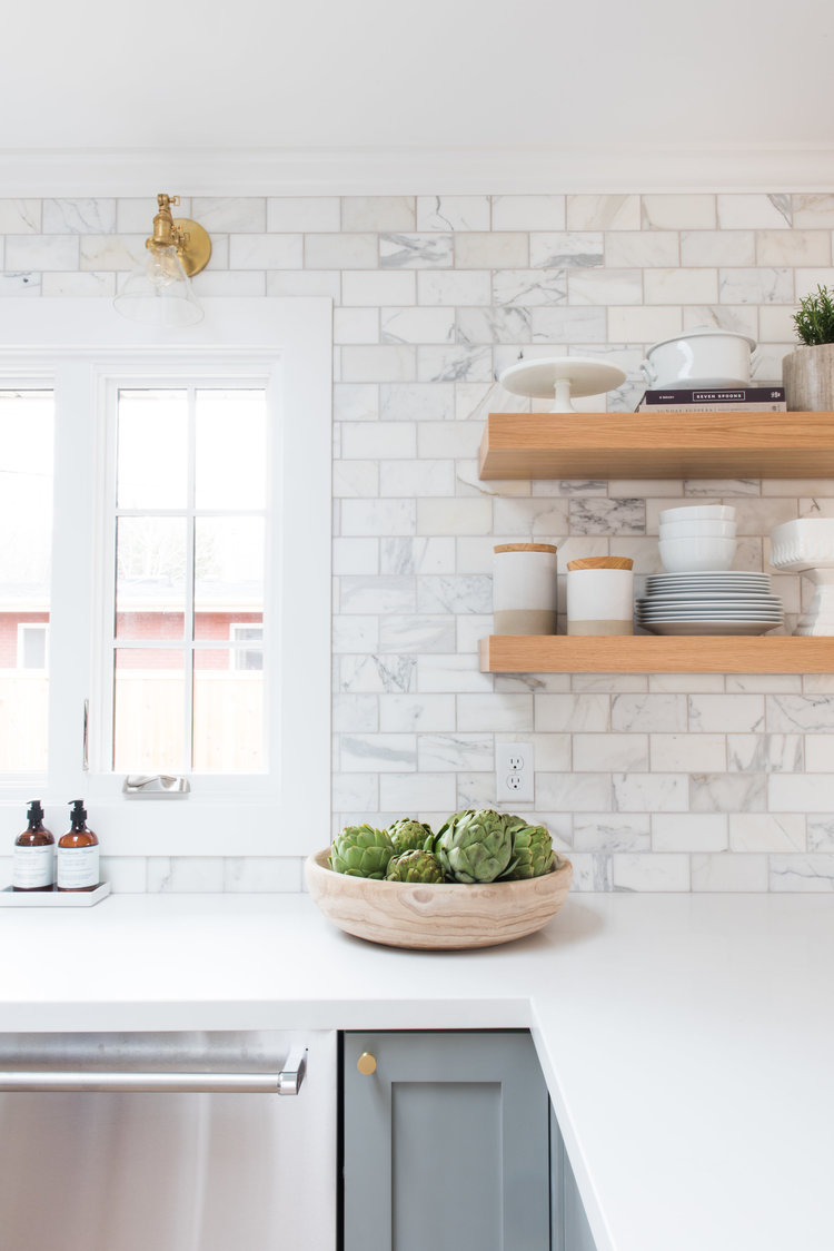 subway tile for kitchen small island on wheels our favorite alternatives to traditional give your space a more luxe feel by using marble in the same shape size as