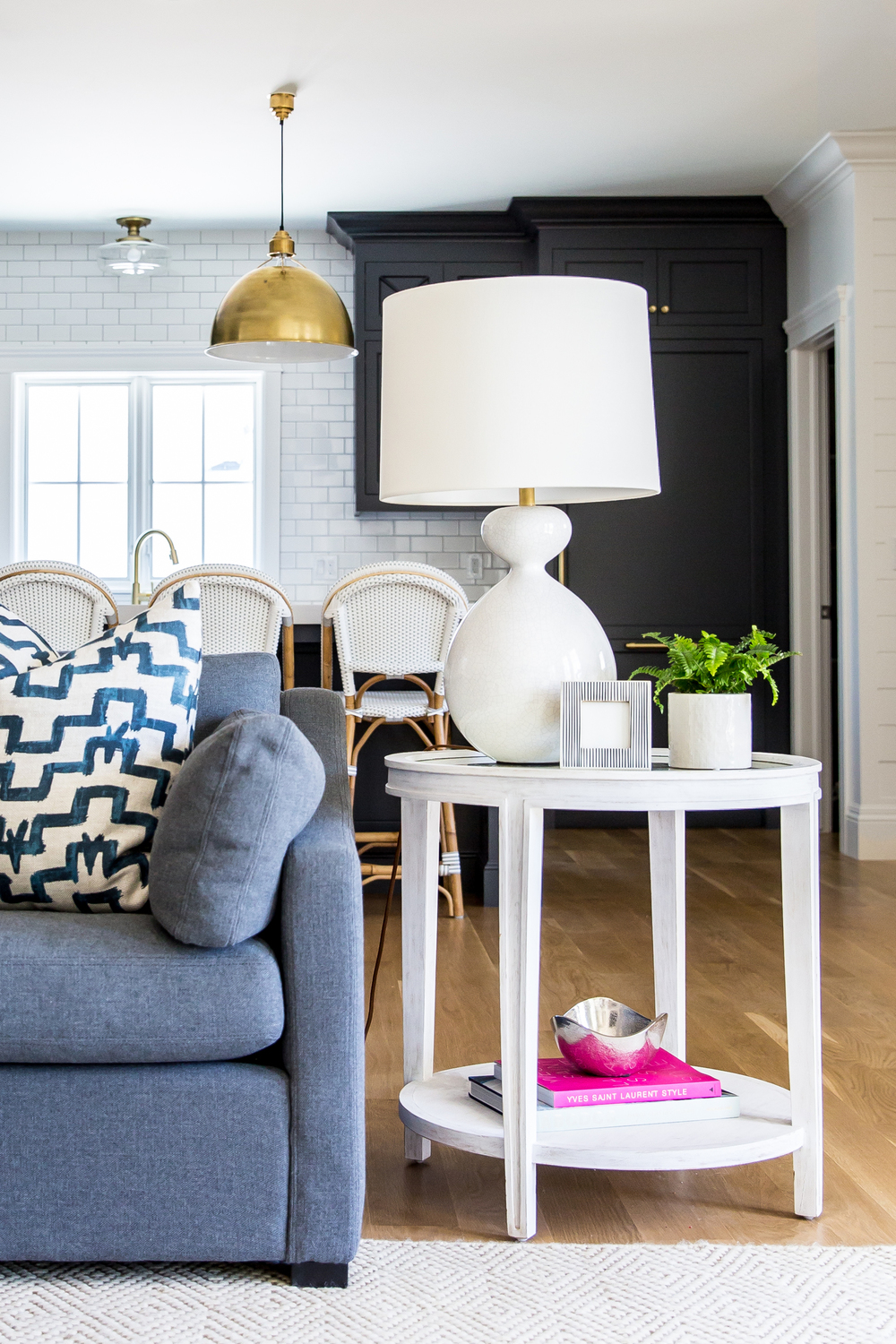 living room side table candice olson lamp combinations quincy gannet in our claybourne project