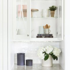 Kitchen Glass Cabinets Under Cabinet Lights How To Style