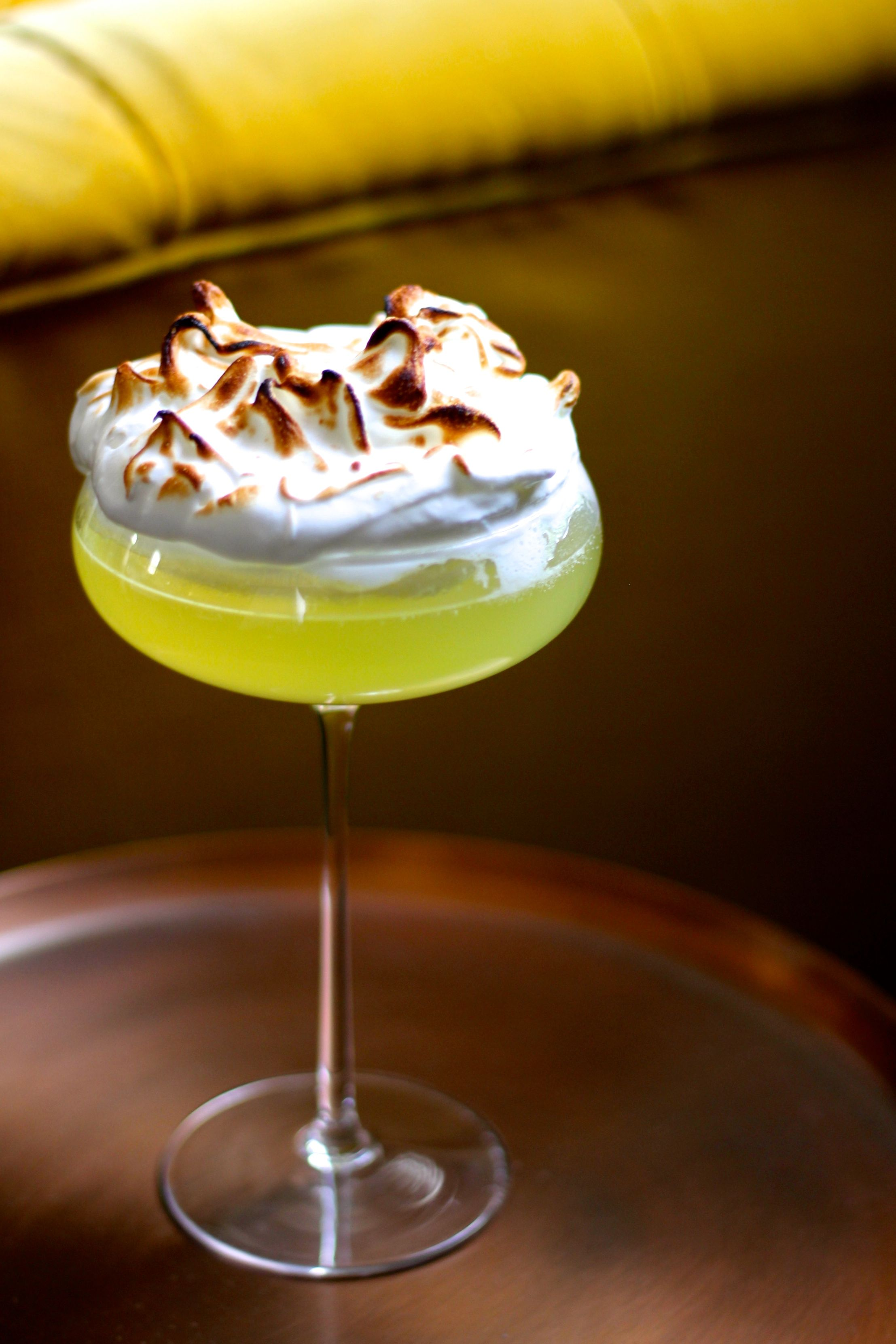 LEMON MERINGUE MARTINI  JOHN WHAITE
