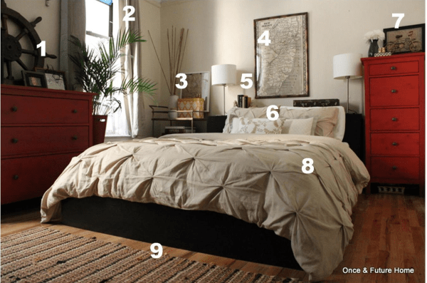 Master Bedroom Reveal 5 Pottery Barn Inspired Once