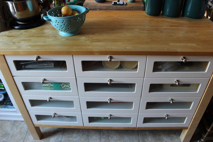 solid wood kitchen island edging tiles for with drawers ikea | roselawnlutheran