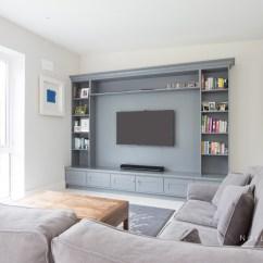 Living Room Tv Units Orange And Green Decorating Ideas Bespoke Luxury Furniture Noel Dempsey Design